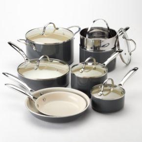 Food Network? 13-pc. Ceramic Nonstick Cookware Set