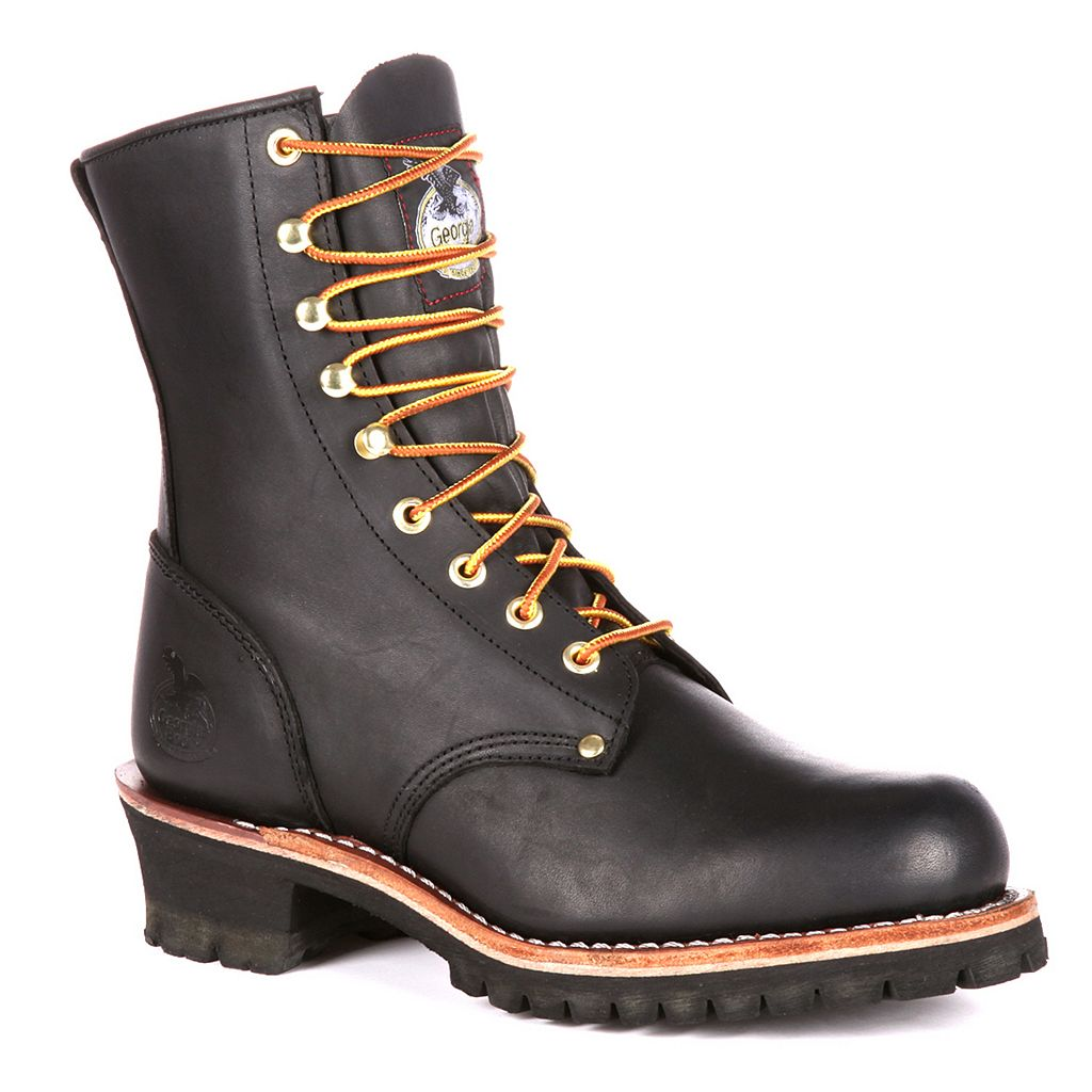 Georgia Boot Loggers Men's 8-in. Work Boots
