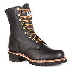 Georgia Boot Loggers Men's 8 in Work Boots