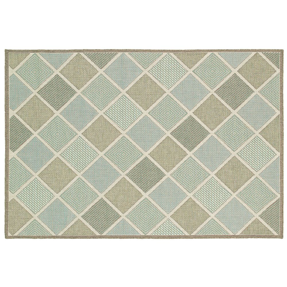 Monaco Meridian Geometric Indoor Outdoor Rug
