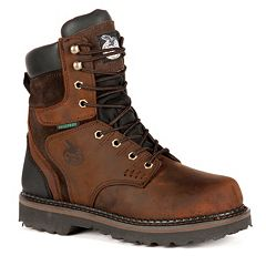 Georgia Boot Brookville Men's 8 in Waterproof Work Boots