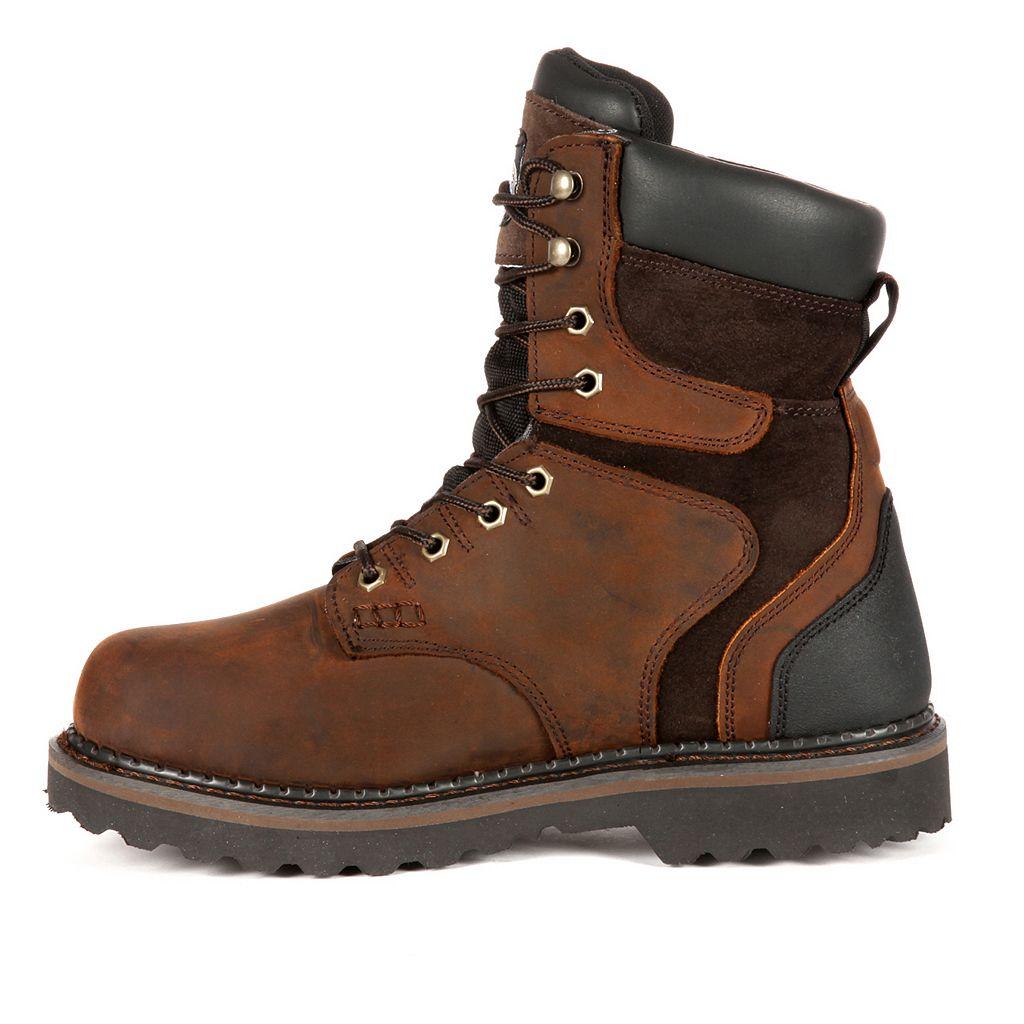 Georgia Boot Brookville Men's 8-in. Waterproof Work Boots