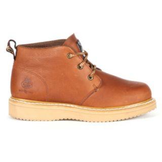Georgia Boot Farm & Ranch Men's Wedge Chukka Boots