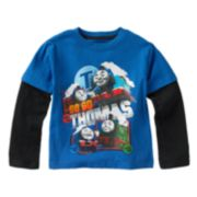 Thomas & Friends Mock-Layer Tee - Toddler Boy