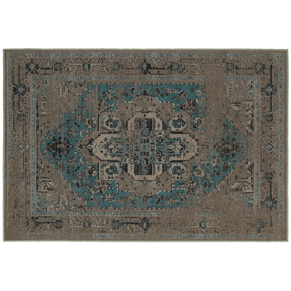 StyleHaven Riverside Distressed Persian Rug