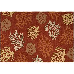 Couristan Outdoor Escape Sea Reef Indoor Outdoor Rug