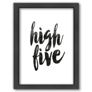 """Americanflat """"High Five"""" Framed Wall Art"""