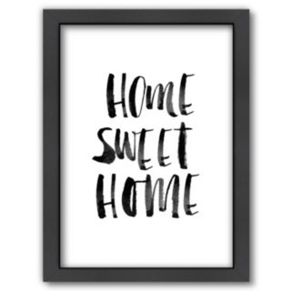"Americanflat ""Home Sweet Home"" Framed Wall Art"