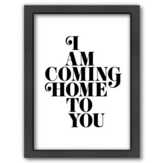 "Americanflat ""Coming Home To You"" Framed Wall Art"