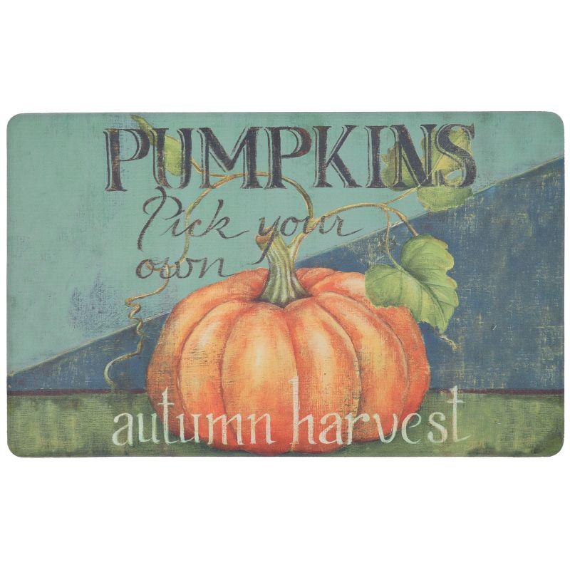 "Food Network Pick Your Pumpkins Kitchen Mat - 18"" x 30"