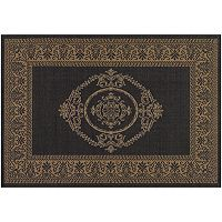 Couristan Antique Medallion Indoor Outdoor Rug