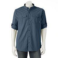 Men's Columbia Omni-Shade Glen Meadow Button-Down Shirt