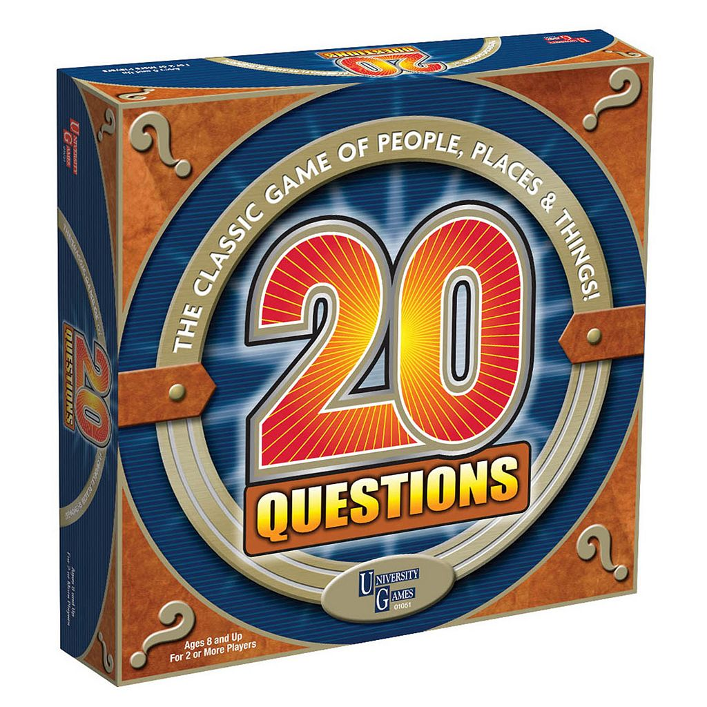 20 Questions Game by University Games
