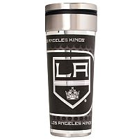 Los Angeles Kings Stainless Steel Metallic Travel Tumbler