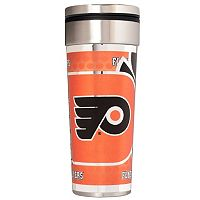 Philadelphia Flyers 22-Ounce Stainless Steel Metallic Travel Tumbler