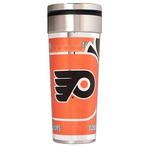 Philadelphia Flyers 22-Ounce Stainless Steel Metallic Travel Tumbler