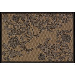 Couristan Rose Indoor Outdoor Rug