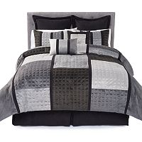 Home Classics® Plush Grant 8-pc. Bedding Set