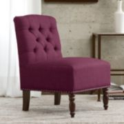 Madison Park Solid Serena Accent Chair