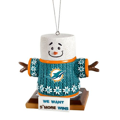 - Miami Dolphins S'mores Christmas Ornament