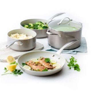 Trisha Yearwood Precious Metals by GreenPan 10-pc. Titanium Nonstick Aluminum Cookware Set
