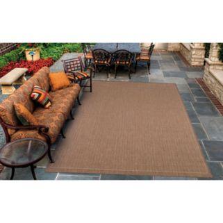 Couristan Saddle Stitch Indoor Outdoor Rug