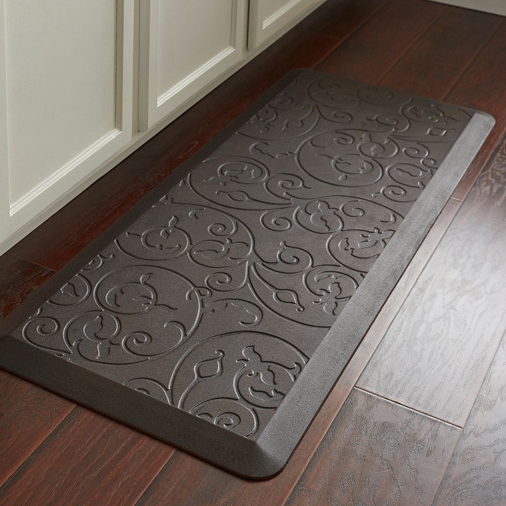 Food Network™ Ultra Comfort Scroll Kitchen Mat