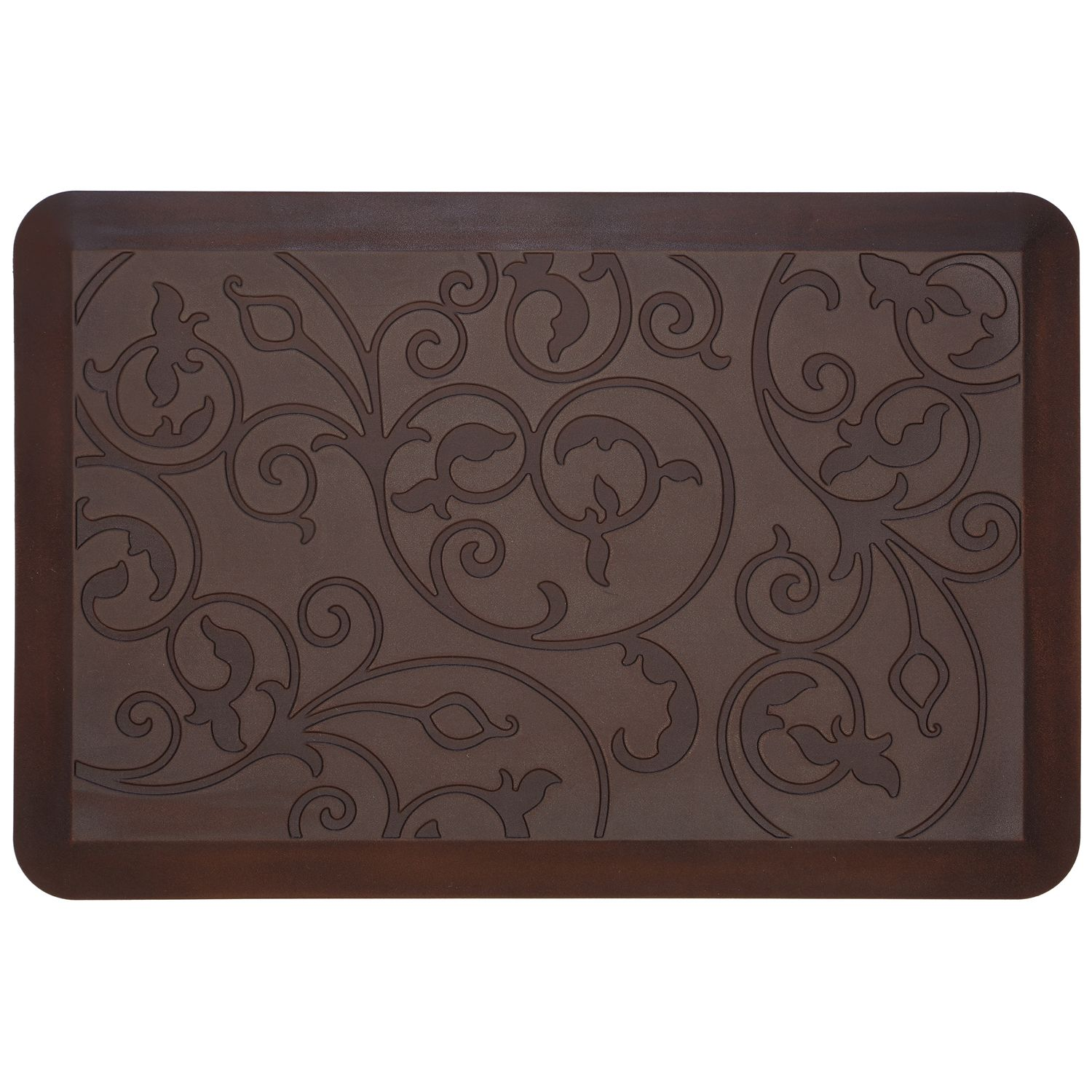 High Quality Food Network™ Ultra Comfort Scroll Kitchen Mat
