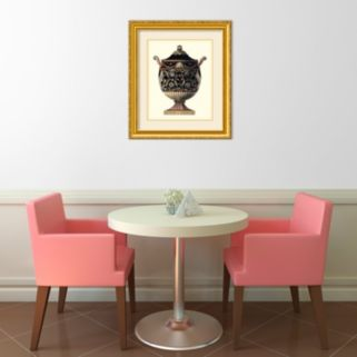 """Antonini Clementino Urn IV"" Framed Wall Art"