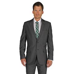 Men's Apt. 9® Slim-Fit Black Pindot Suit Jacket