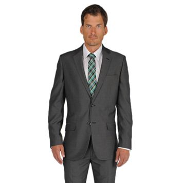 Men's Apt. 9® Slim-Fit Black Pindot Suit Jacket