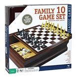 Family 10-in-1 Game Set
