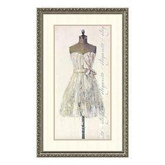 'Elegante Elegant' Framed Wall Art