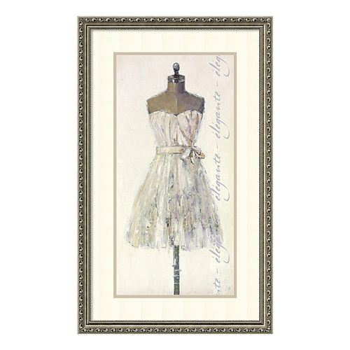 """Elegante Elegant"" Framed Wall Art"