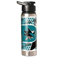 San Jose Sharks Stainless Steel Water Bottle