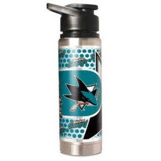 San Jose Sharks Stainless Steel Water Bottle