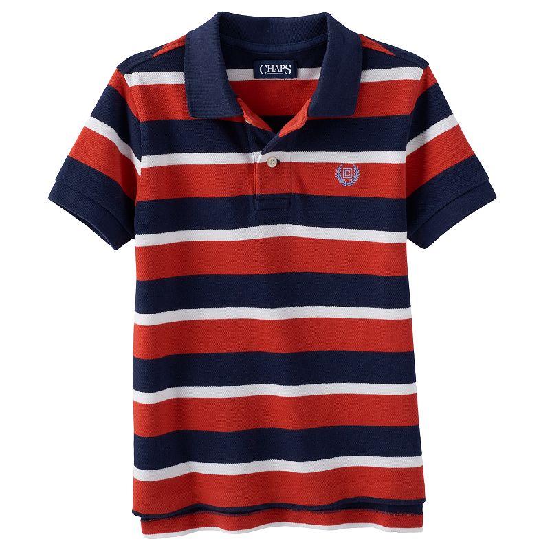 Toddler Boy Chaps Striped Polo