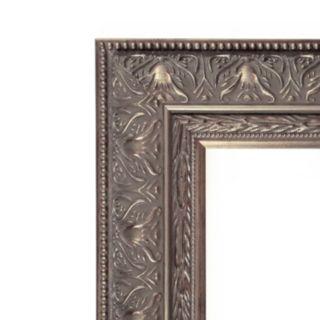 Barcelona Silver Finish Wood Wall Mirror