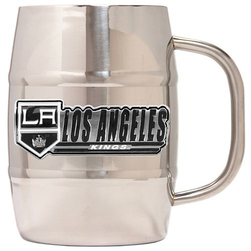Los Angeles Kings Stainless Steel Barrel Mug