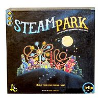 Steam Park Game by IELLO