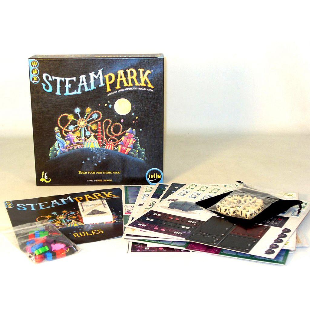 Steam Park Game by IELLO