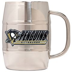 Pittsburgh Penguins Stainless Steel Barrel Mug