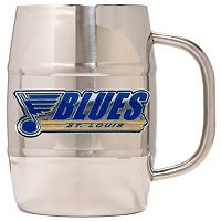 St. Louis Blues Stainless Steel Barrel Mug