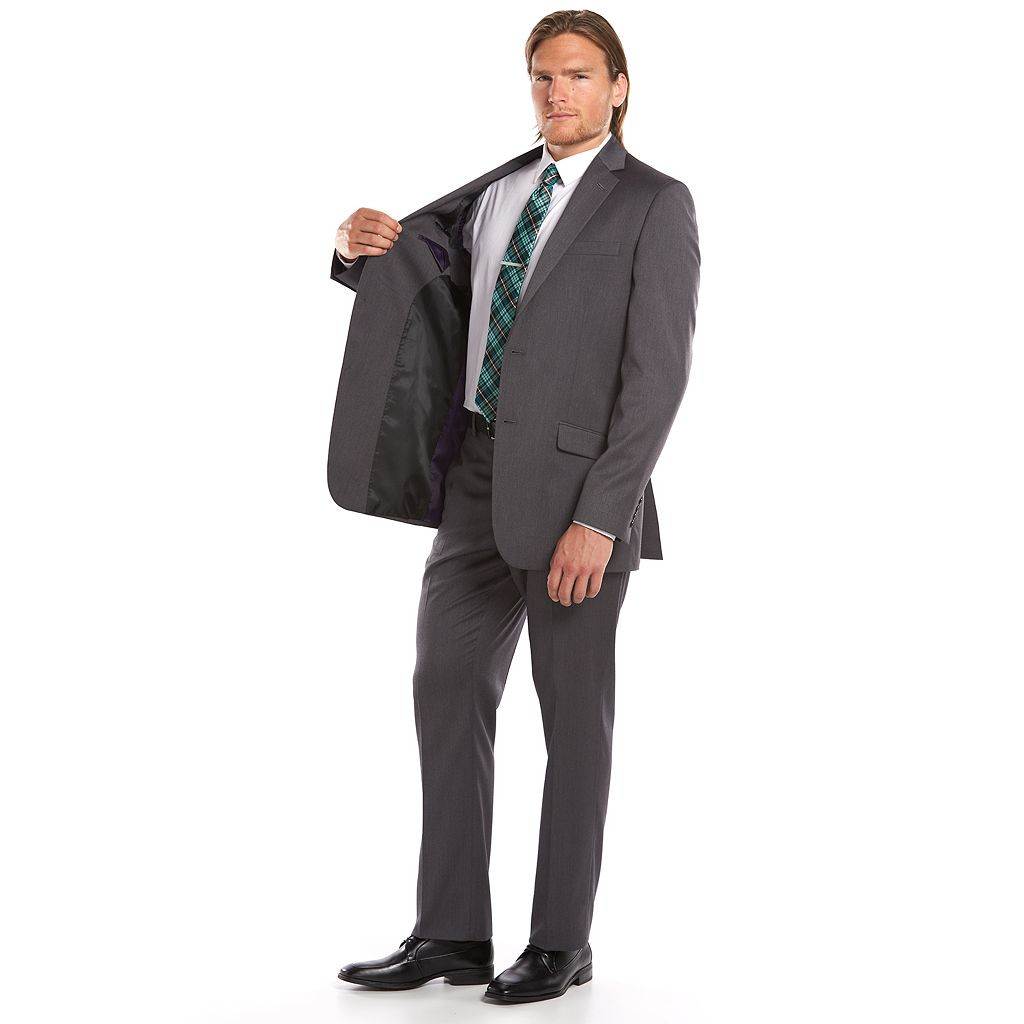 Men's Apt. 9® Soho Slim-Fit Gray Suit Jacket