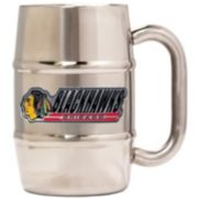 Chicago Blackhawks Stainless Steel Barrel Mug