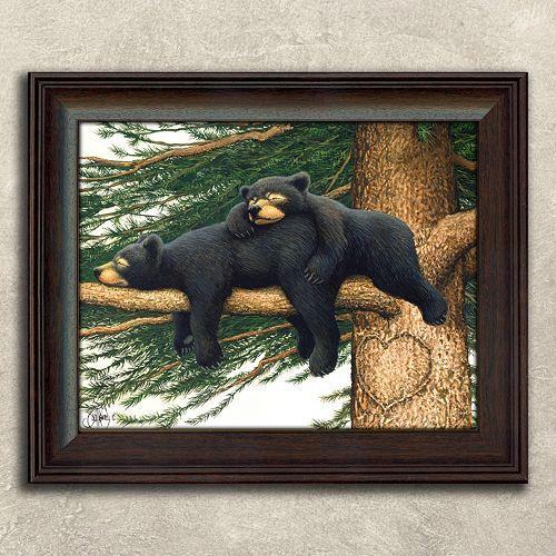''Cozy Bears'' Framed Wall Art