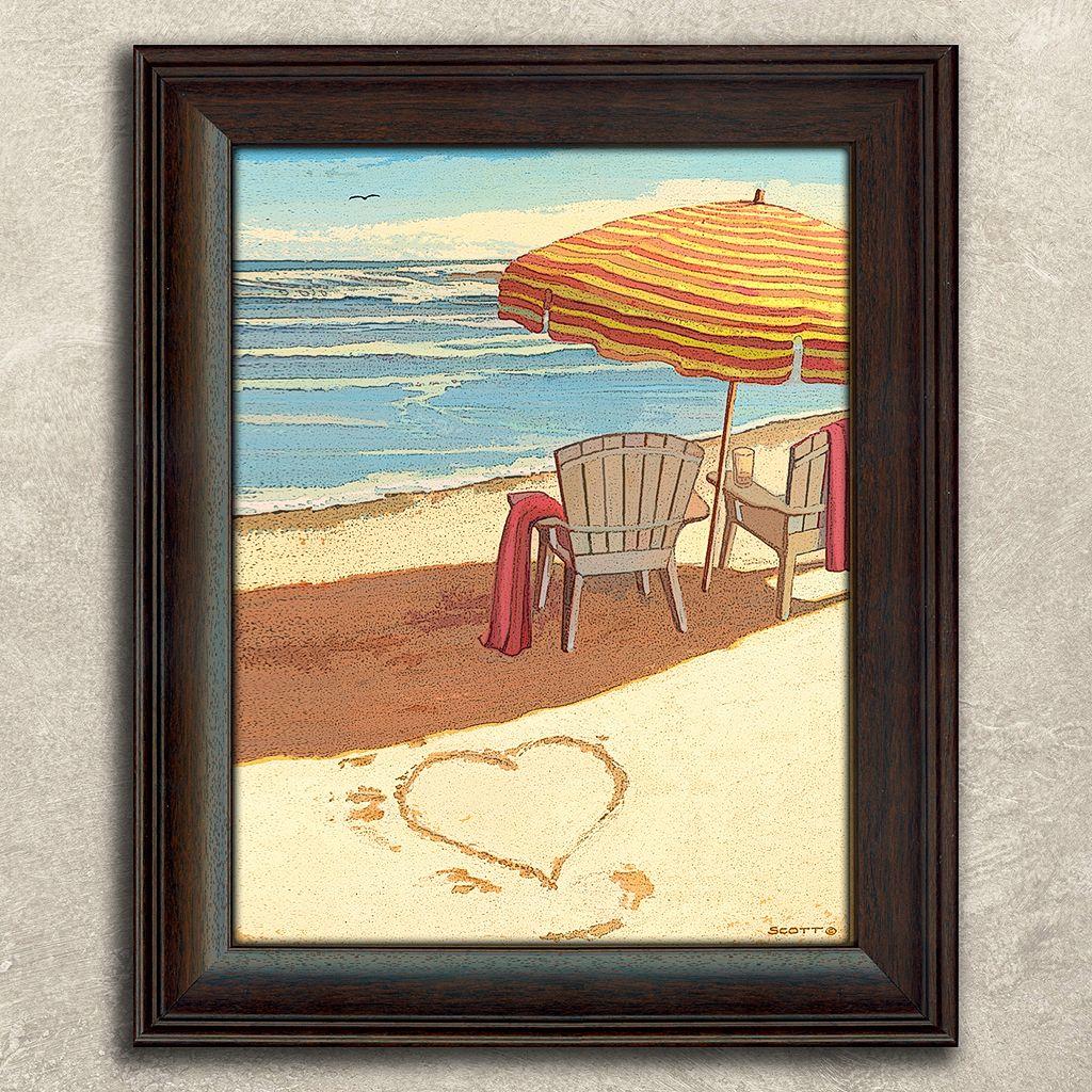 ''Sea Breeze'' Framed Wall Art
