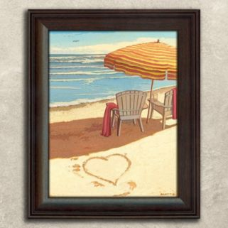 ''Sea Breeze'' Framed Wall Art