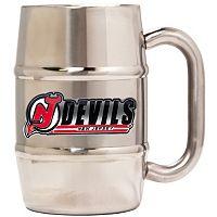 New Jersey Devils Stainless Steel Barrel Mug