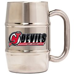 New Jersey Devils Stainless Steel Barrel Mug